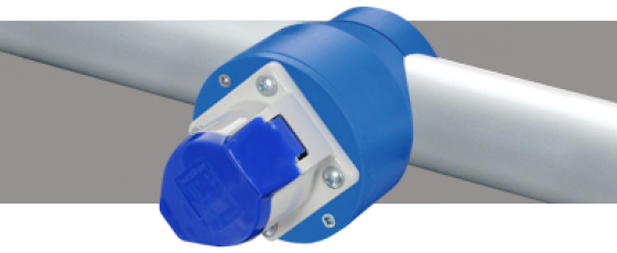 Smart Socket ® 16A Blue