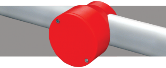 Smart Socket ® Blank Lid Red