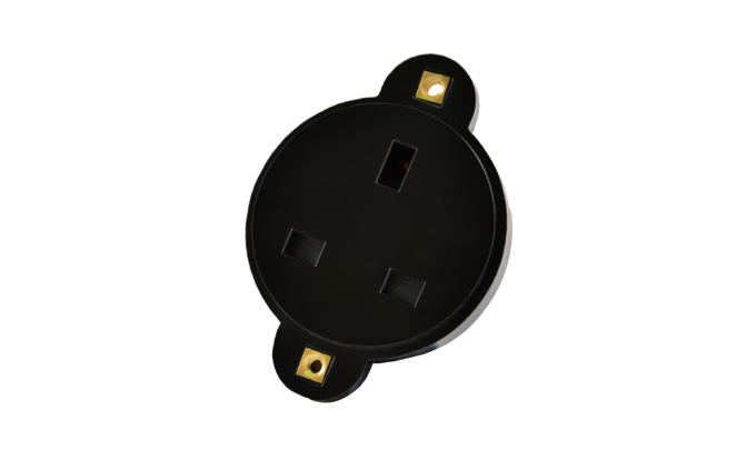 13A Connector Black
